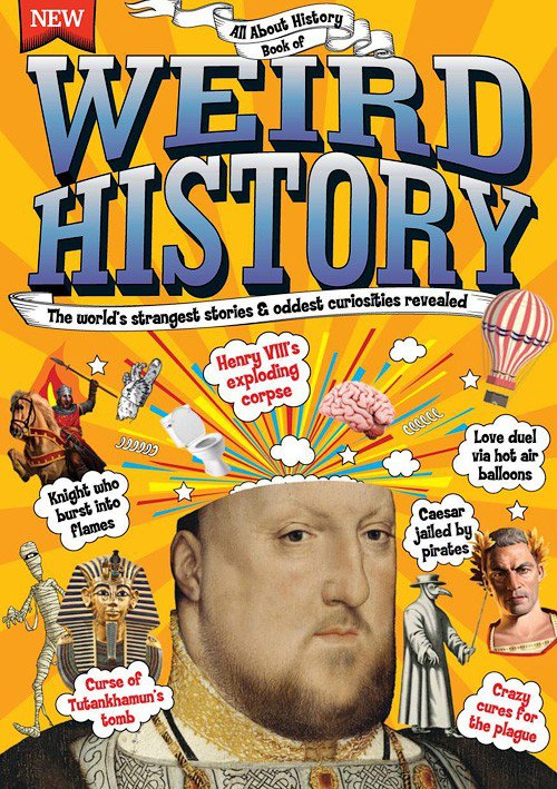 Jon White – All About History Book Of Weird History