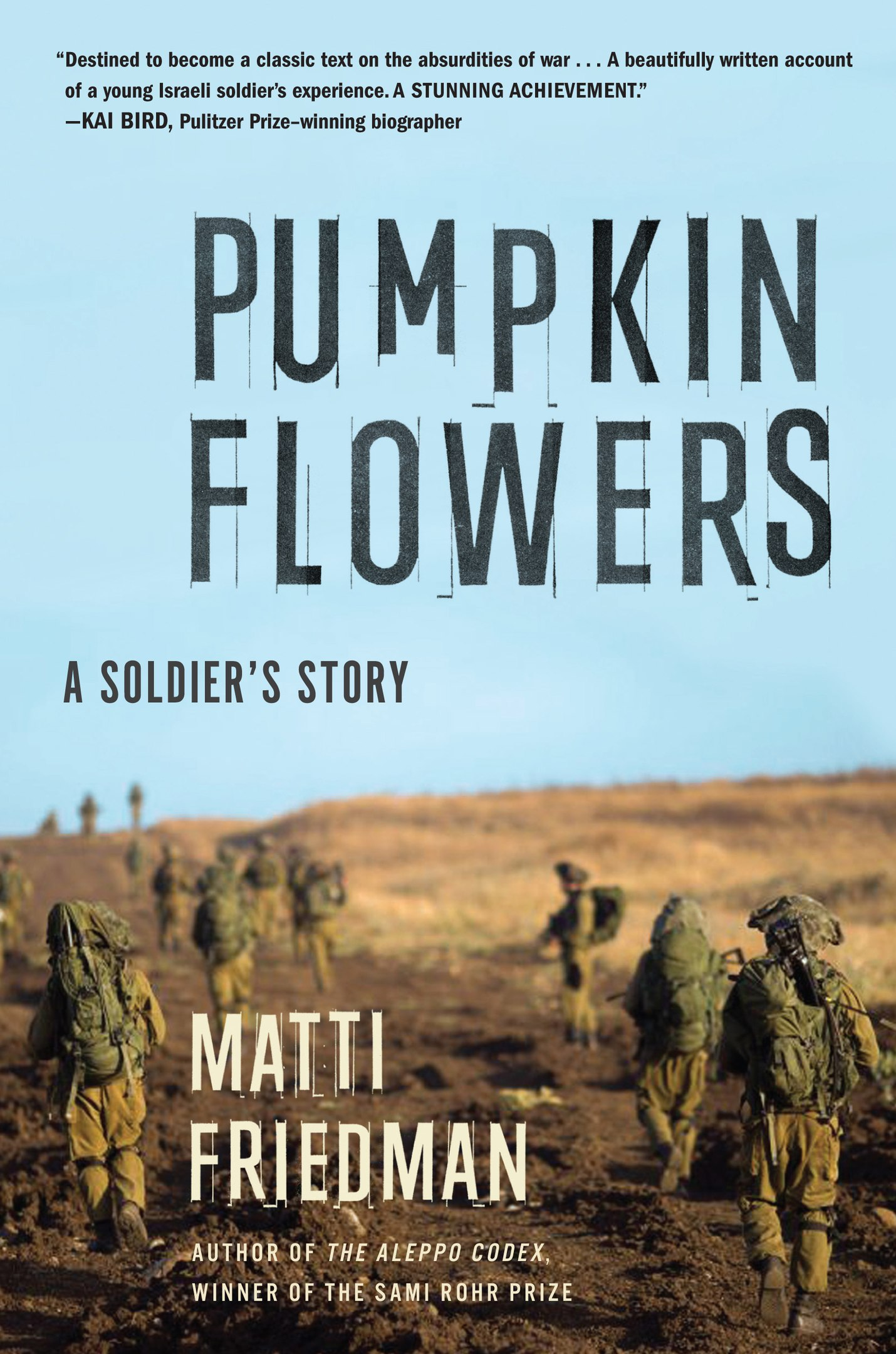 Matti Friedman – Pumpkinflowers