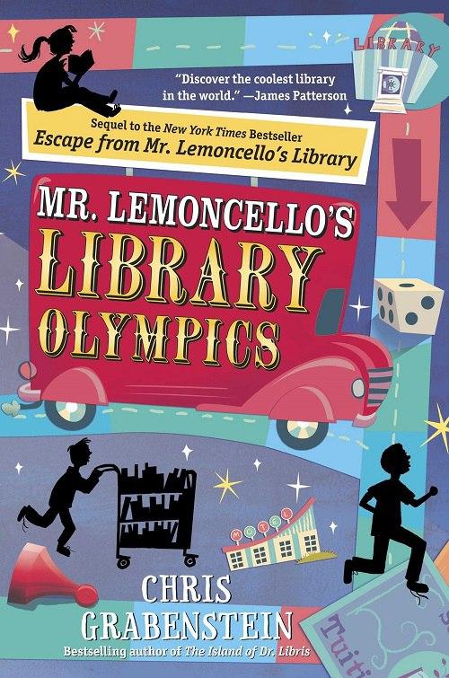 Chris Grabenstein – Mr Lemoncello's Library Olympics