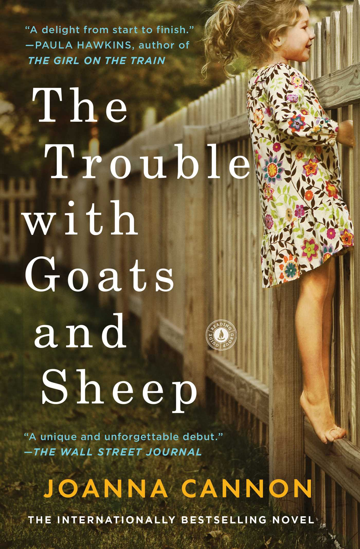 Joanna Cannon – The Trouble With Goats And Sheep