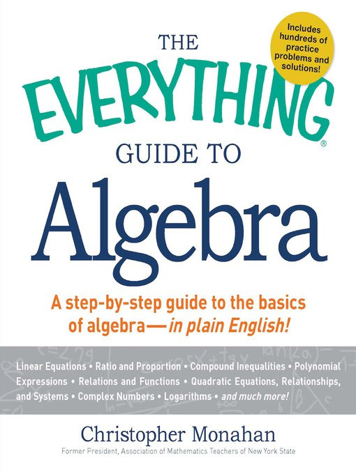 Christopher Monahan – The Everything Guide To Algebra