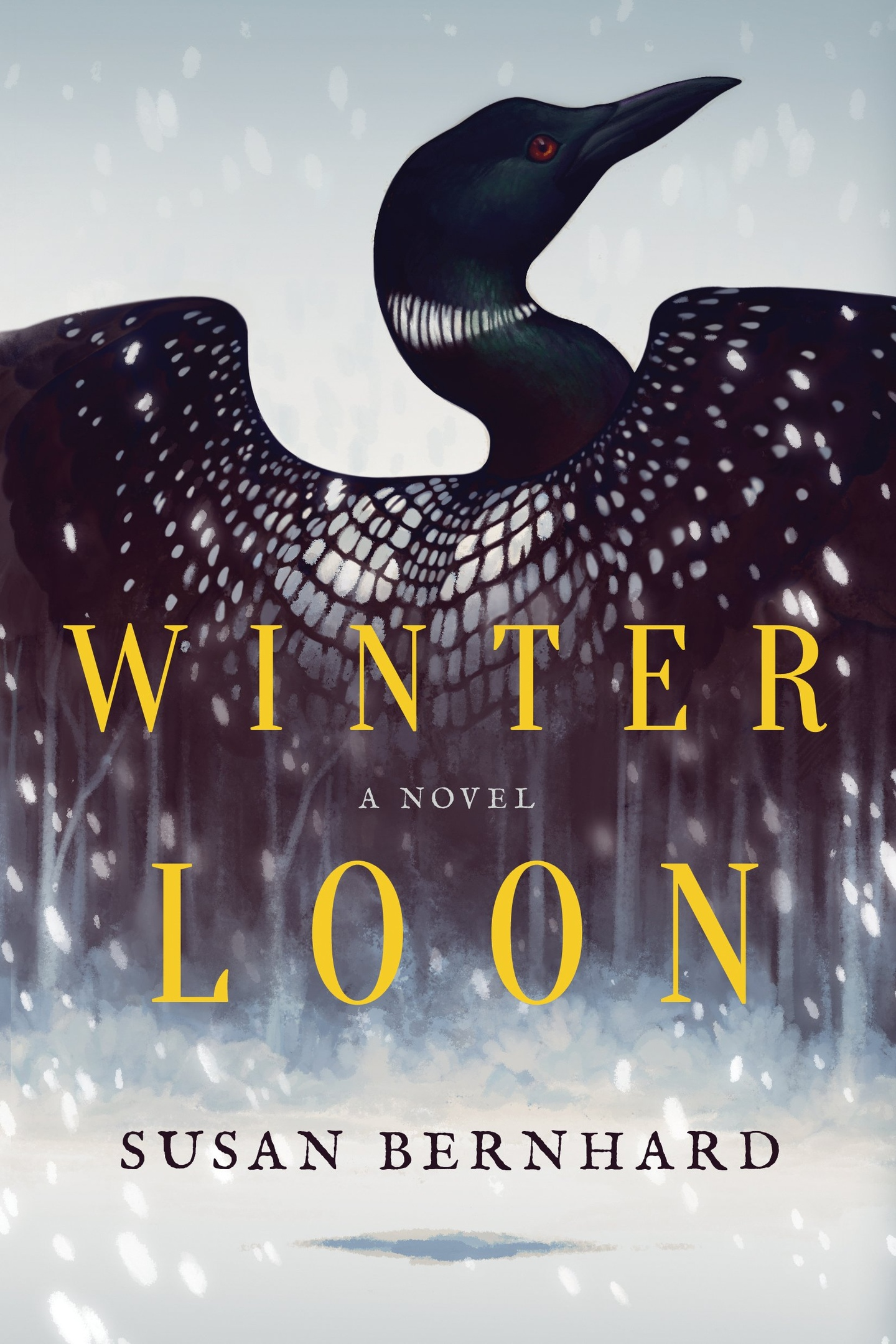 Susan Bernhard – Winter Loon