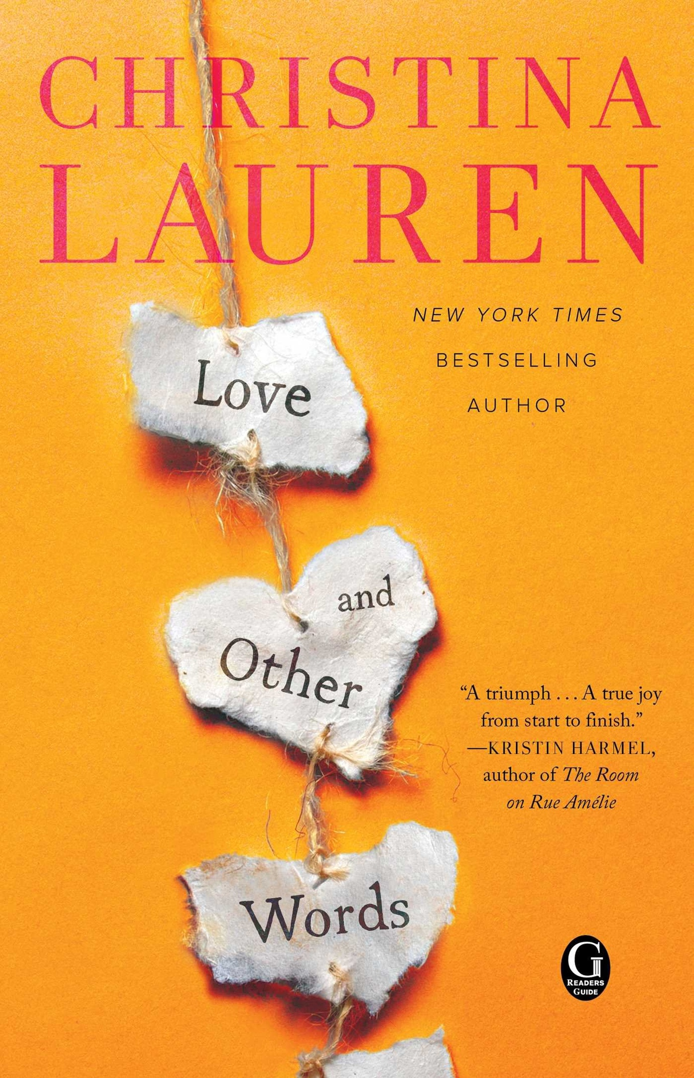Christina Lauren – Love And Other Words