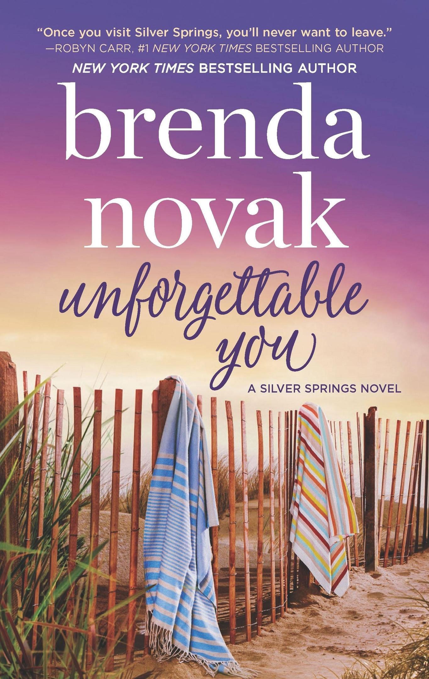 Brenda Novak – Unforgettable You Genre: Author: