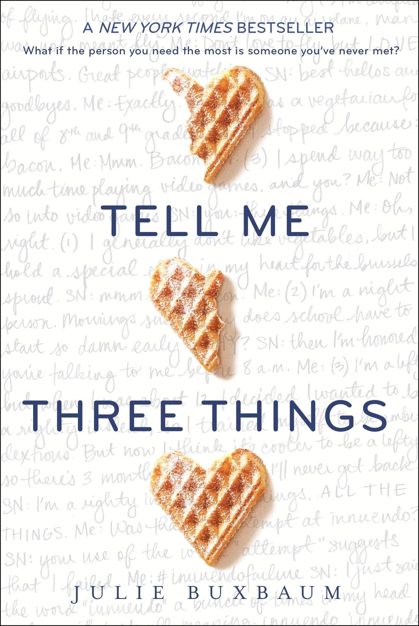 Julie Buxbaum – Tell Me Three Things