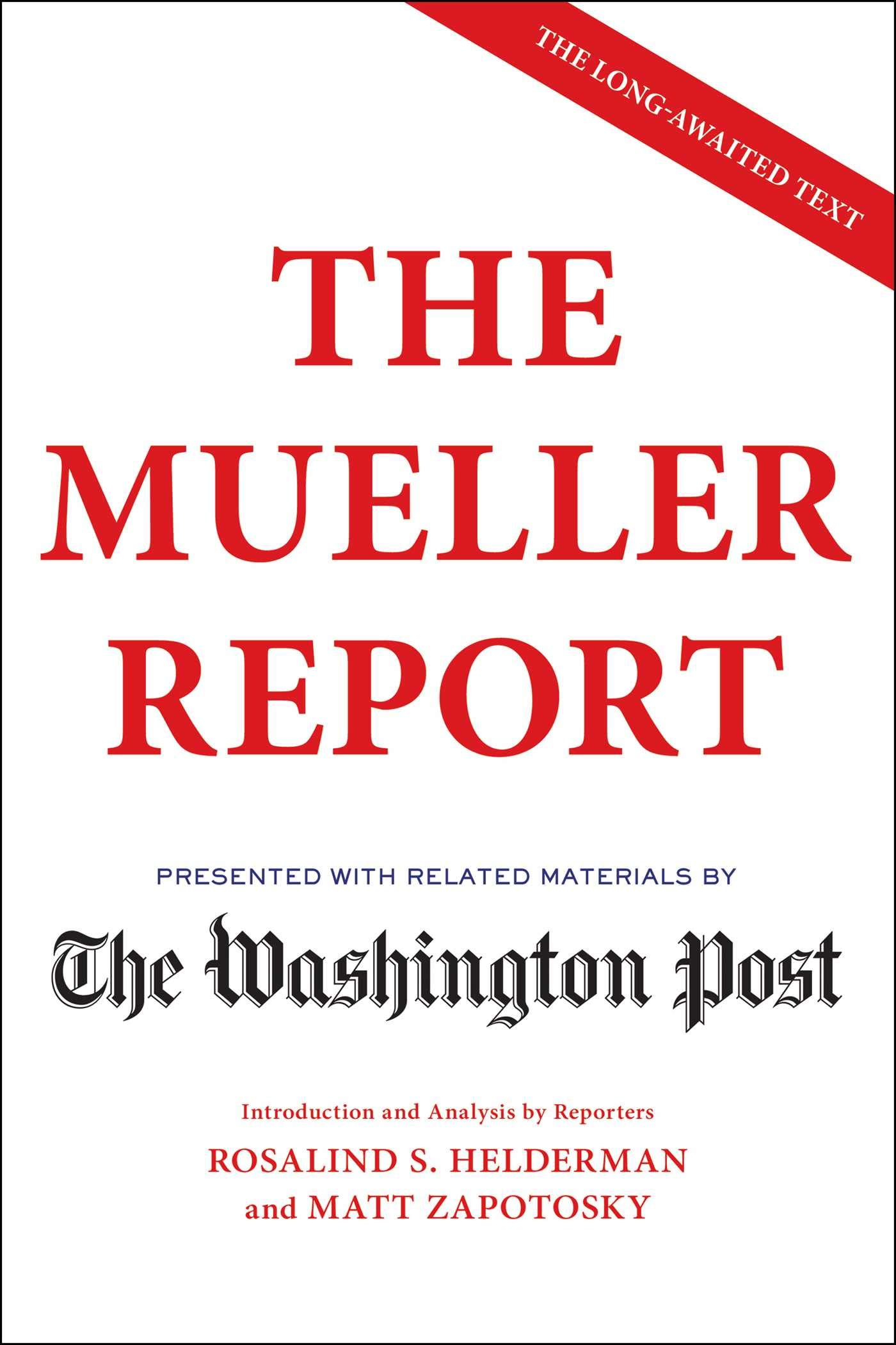 The Washington Post – The Mueller Report