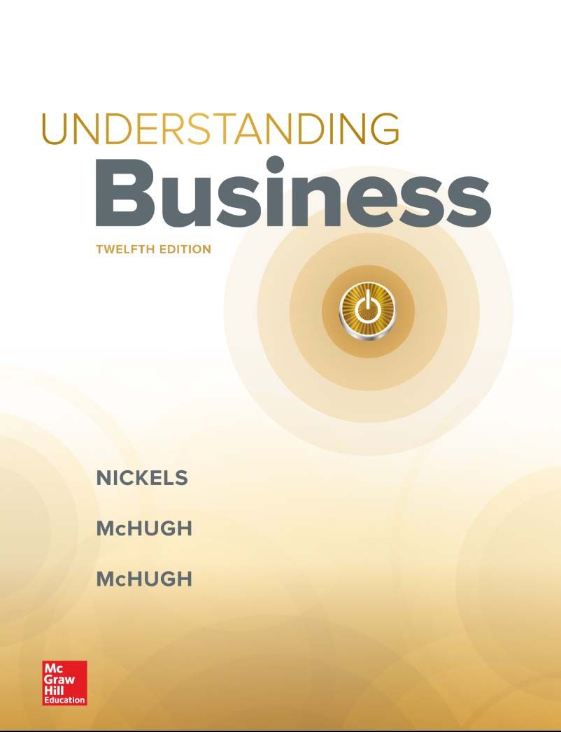 William Nickels – Understanding Business 12th Edition