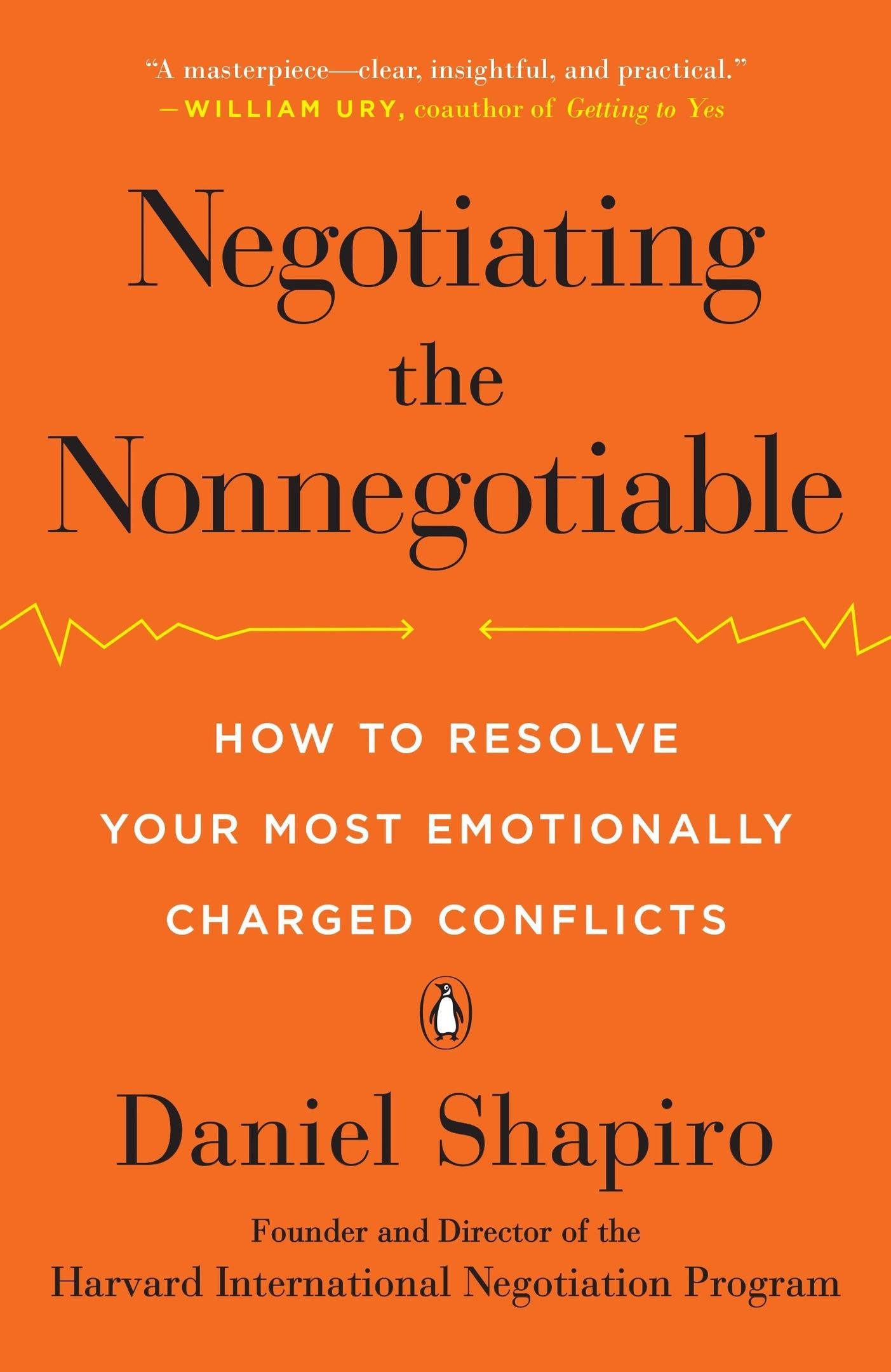 Daniel Shapiro – Negotiating The Nonnegotiable Genre:
