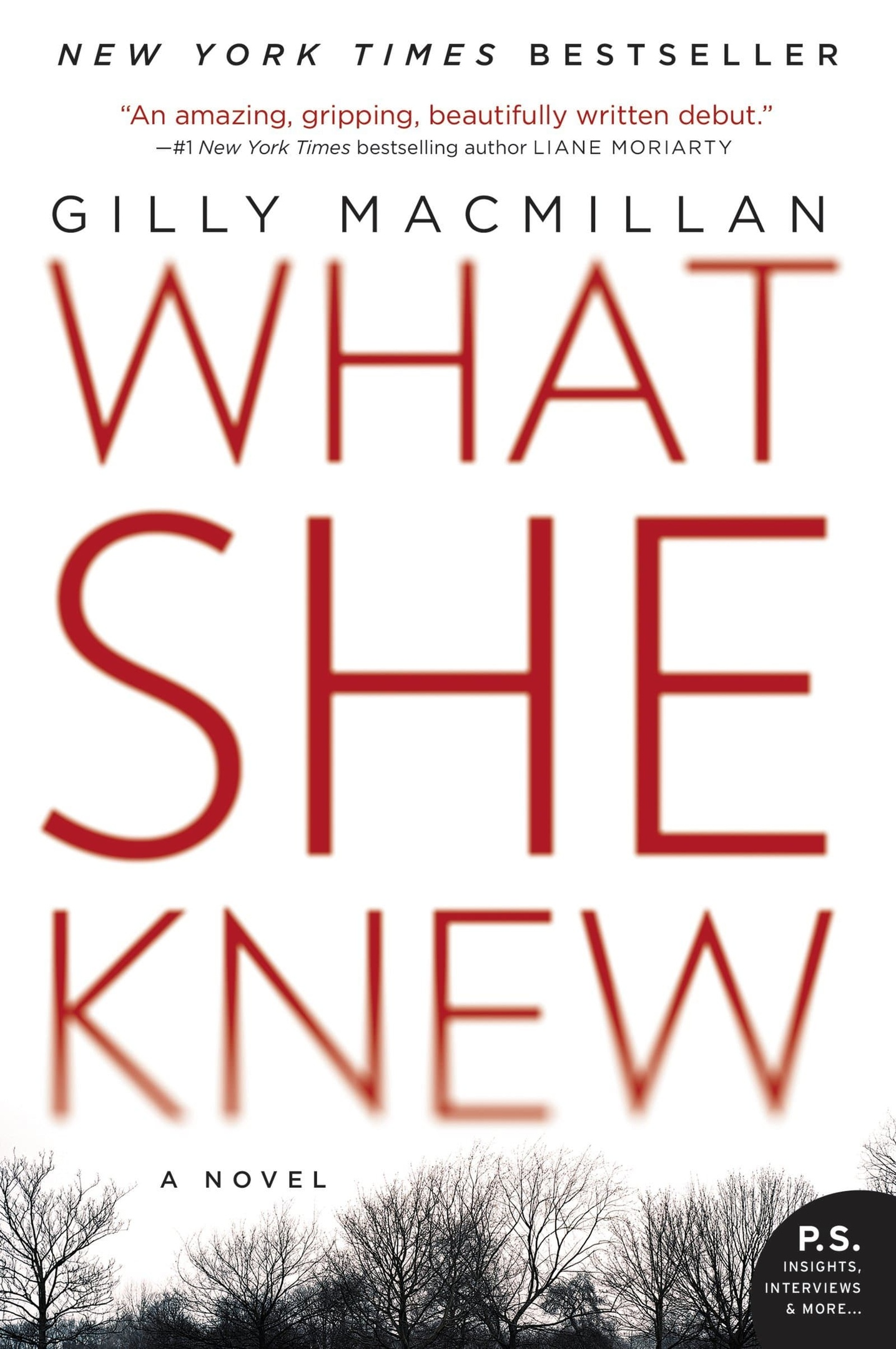 Gilly Macmillan – What She Knew Genre: