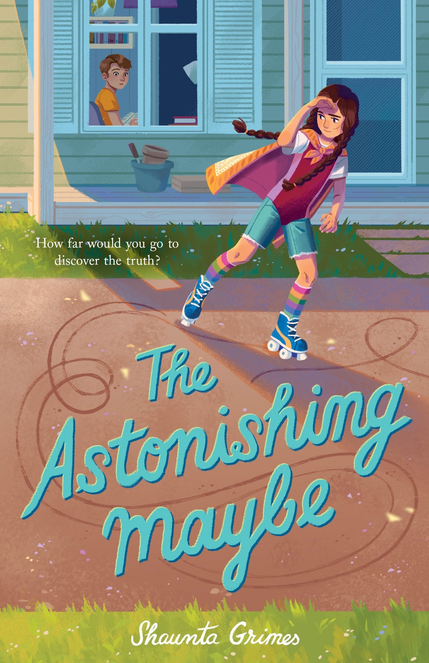 Shaunta Grimes – The Astonishing Maybe Genre: