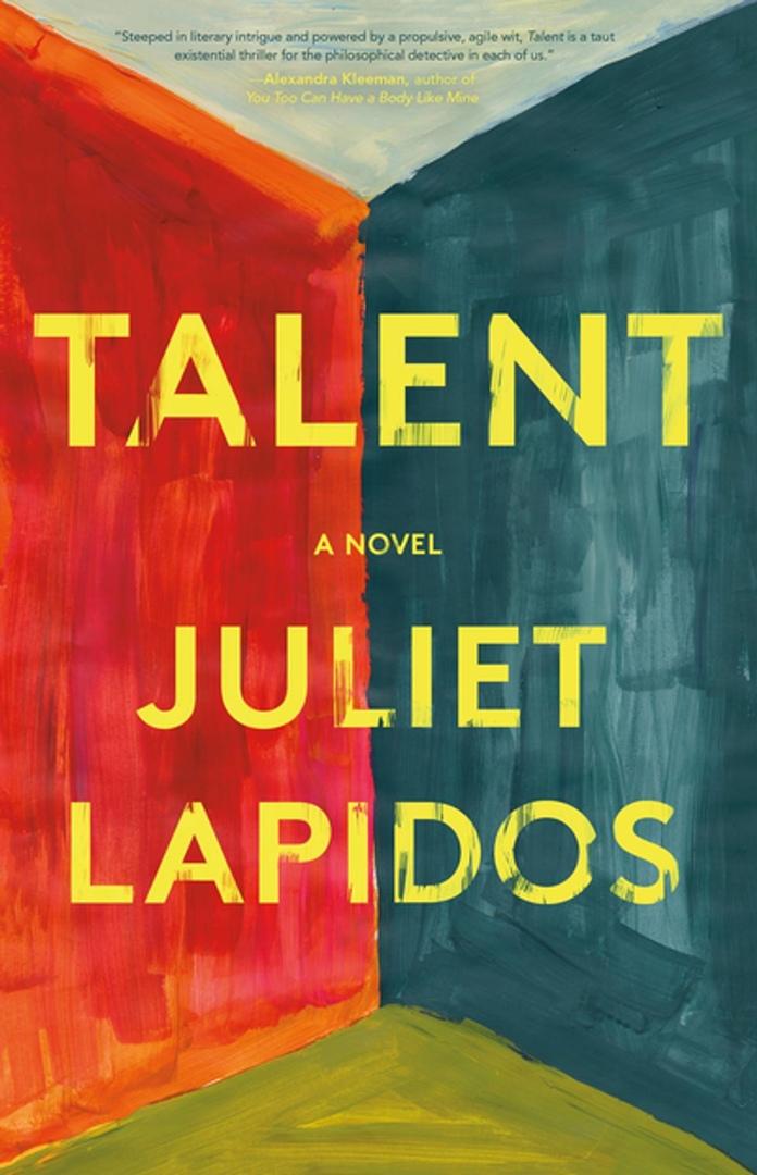 Juliet Lapidos – Talent Genre: Author: Anna