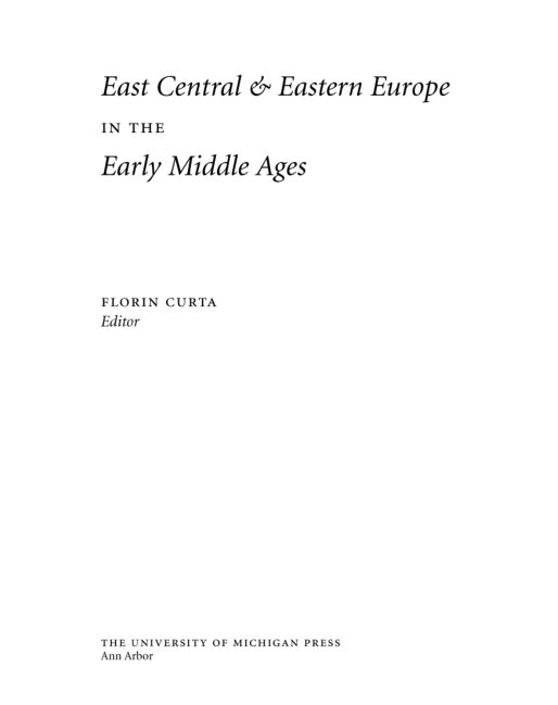 East Central And Eastern Europe In