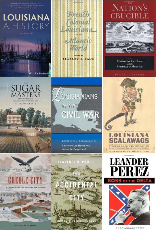 1) Louisiana: A History – Bennett H