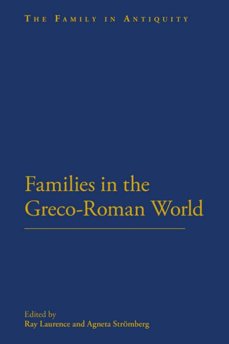 1) Families In The Greco-Roman World –
