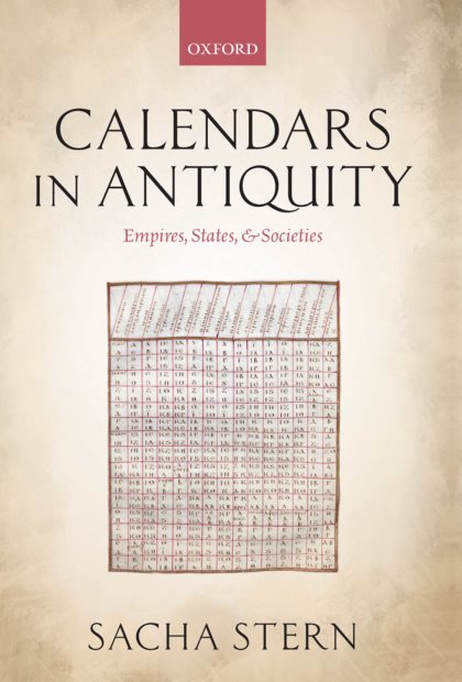 1) Calendars In Antiquity: Empires, States, And