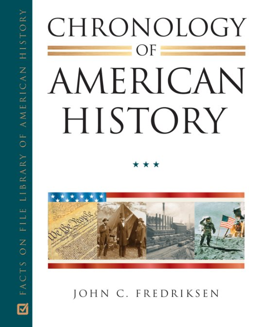 1) Chronology Of American History (4-Volume Set)