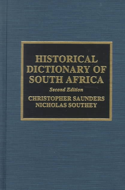 1) Historical Dictionary Of South Africa –