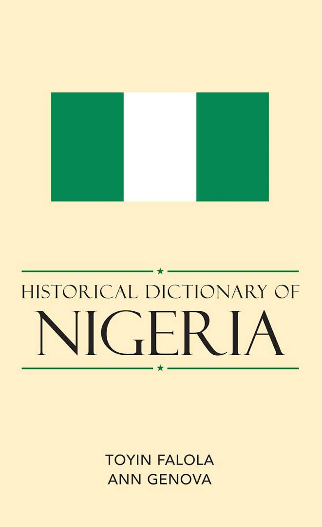 1) Historical Dictionary Of Nigeria – Toyin