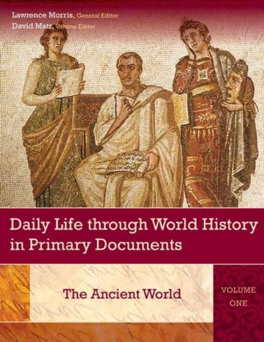 1) Daily Life Through World History In