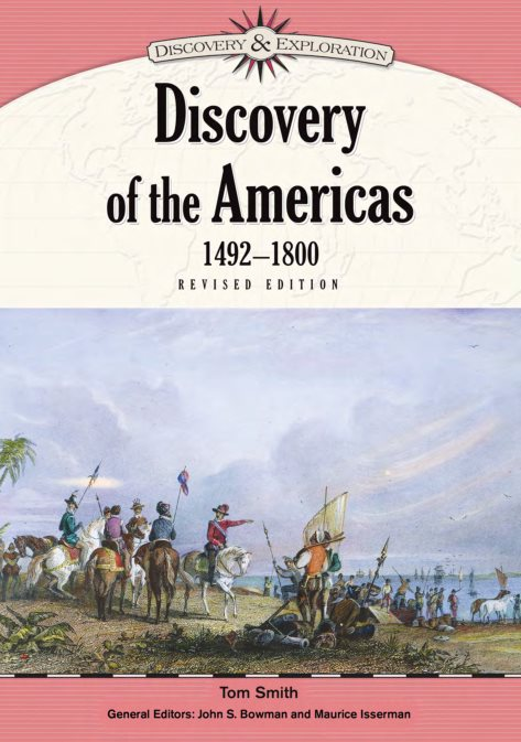 1) Discovery Of The Americas, 1492-1800, Revised