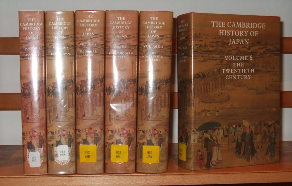 • The Cambridge History Of Japan: 6