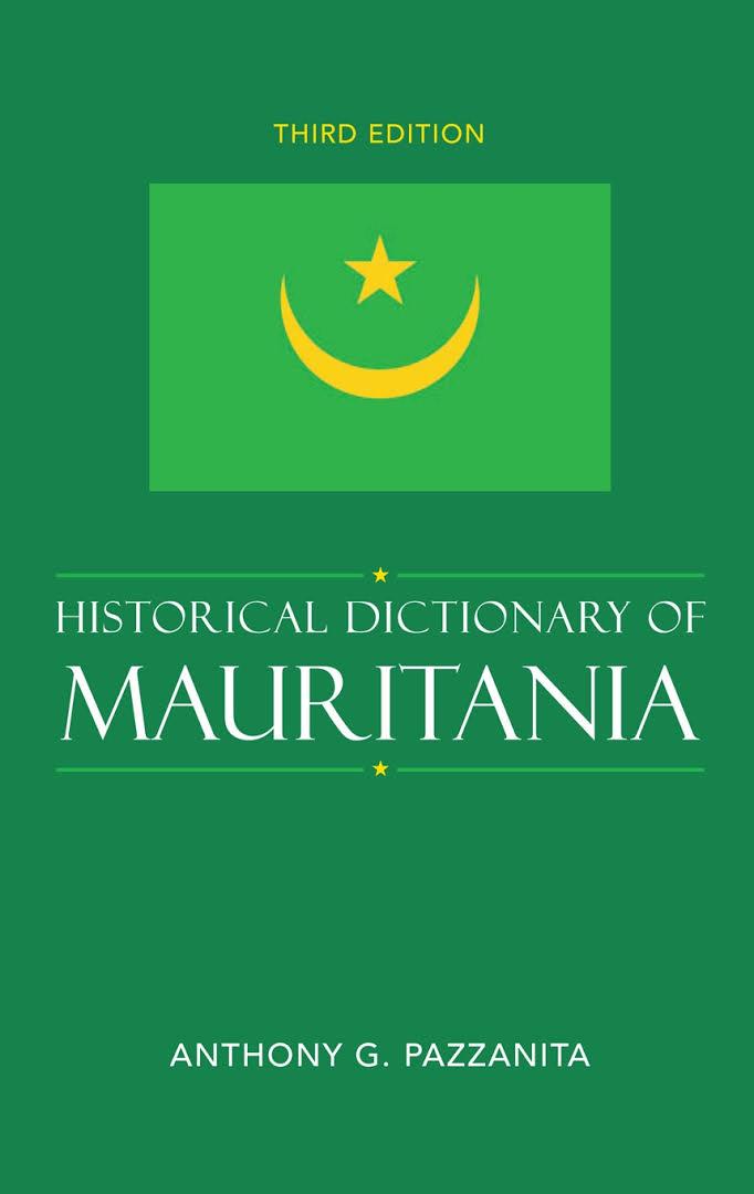 1) Historical Dictionary Of Mauritania – Anthony