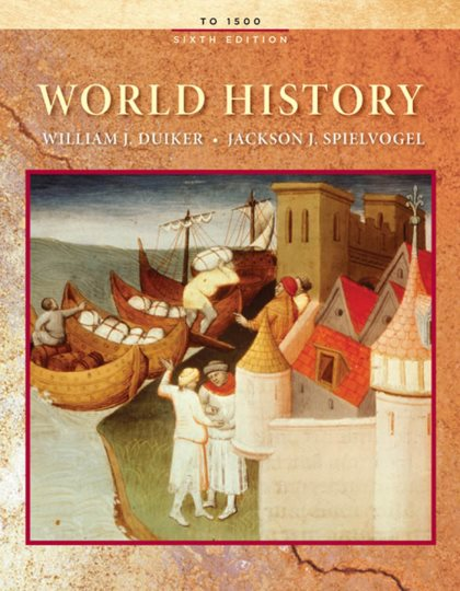 1) World History: To 1500 – William