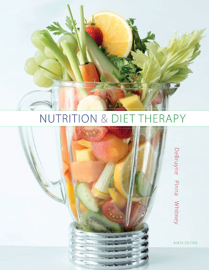 Linda Kelly DeBruyne – Nutrition And Diet Therapy, 9 Edition
