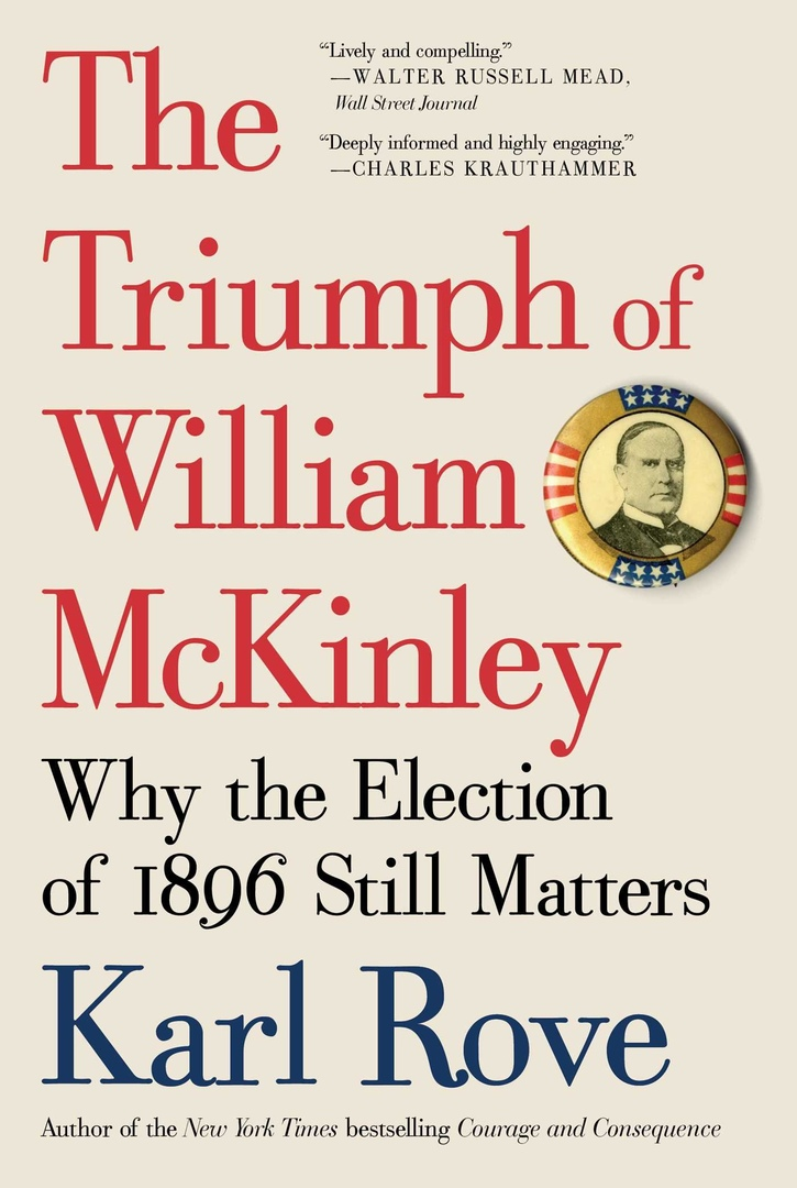 The Triumph Of William McKinley: Why The Election Of 1896 Still Matters – Karl Rove