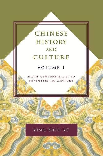 Chinese History And Culture: Sixth Century B