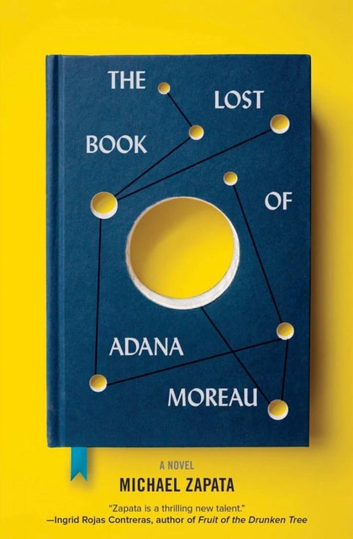 Michael Zapata – The Lost Book Of Adana Moreau