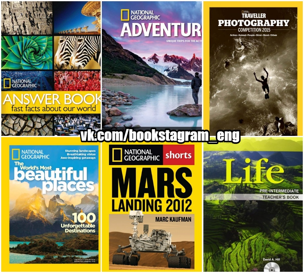 20 National Geographic Books Collection Pack-1