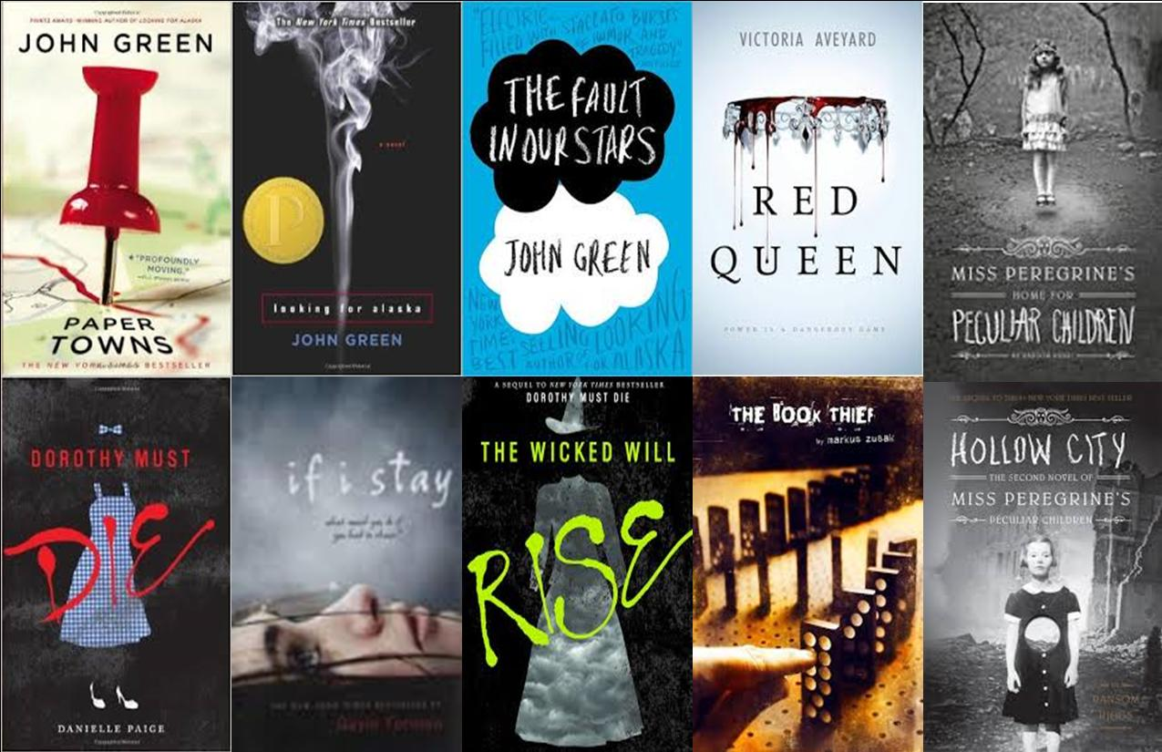 New York Times Bestsellers List – Young Adult Fiction
