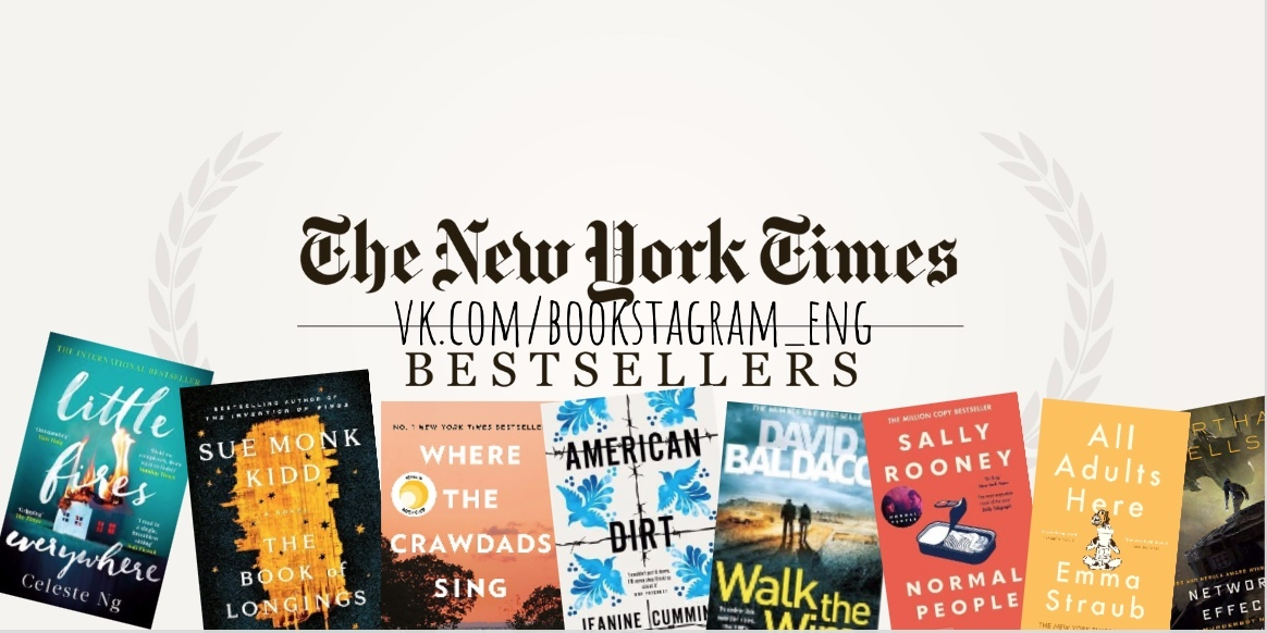 The New York Times Best Sellers: Fiction – May 24, 2020