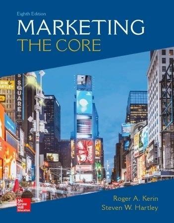 Marketing The Core, 8th Edition