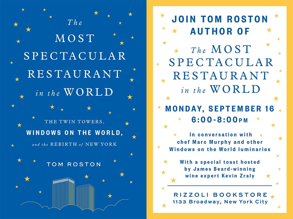 Tom Roston – The Most Spectacular Restaurant In The World
