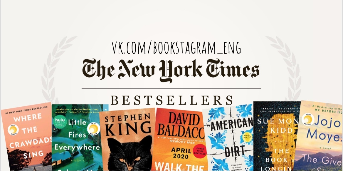 The New York Times Best Sellers: Fiction – May 17, 2020