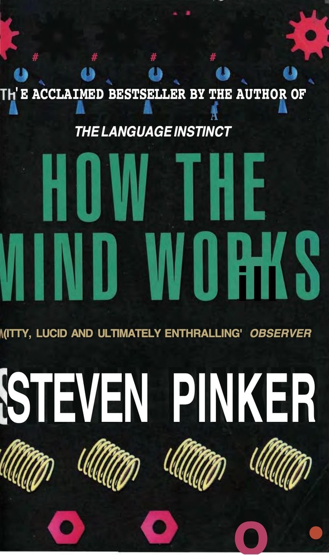 How The Mind Works By Pinker