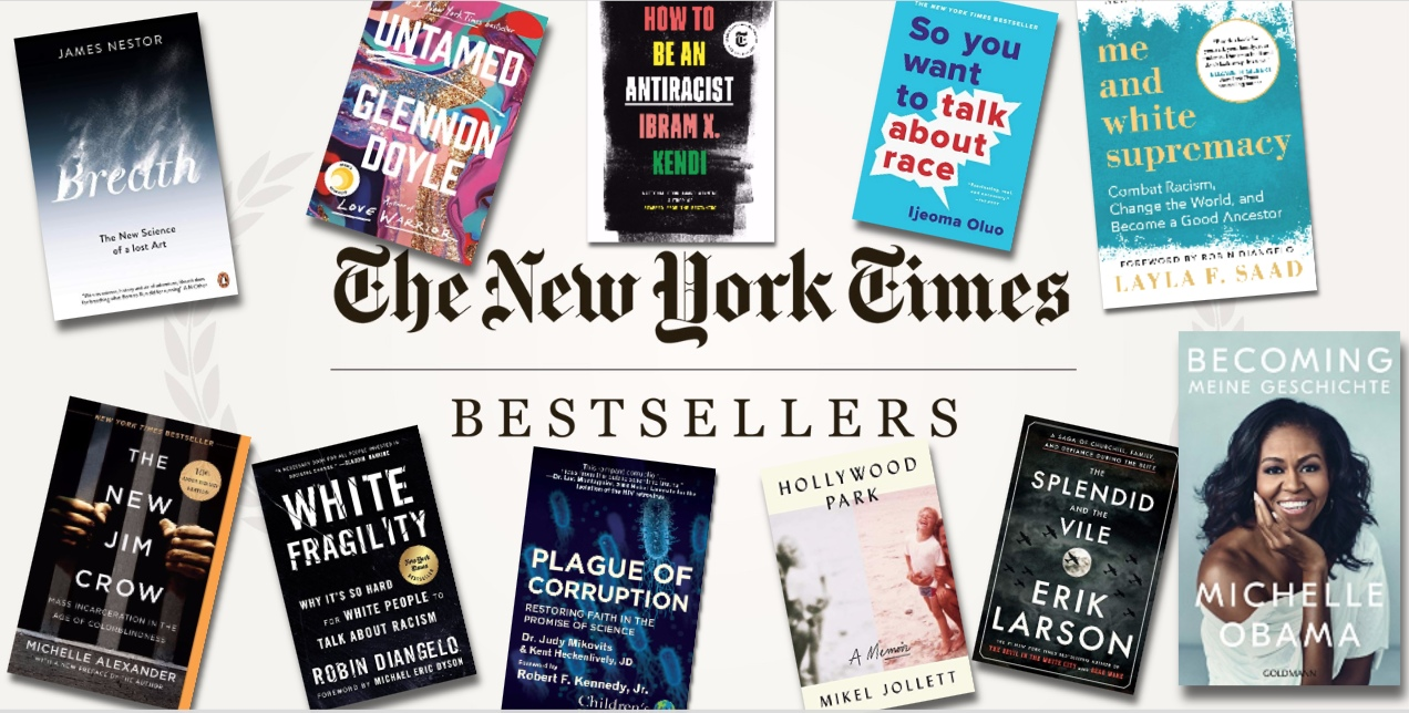 The New York Times Best Sellers: NON-FICTION – June 14, 2020