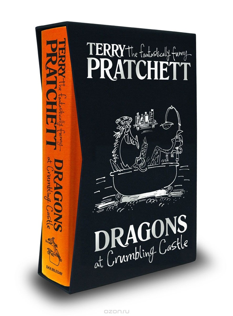 Terry Pratchett – Dragons At Crumbling Castle