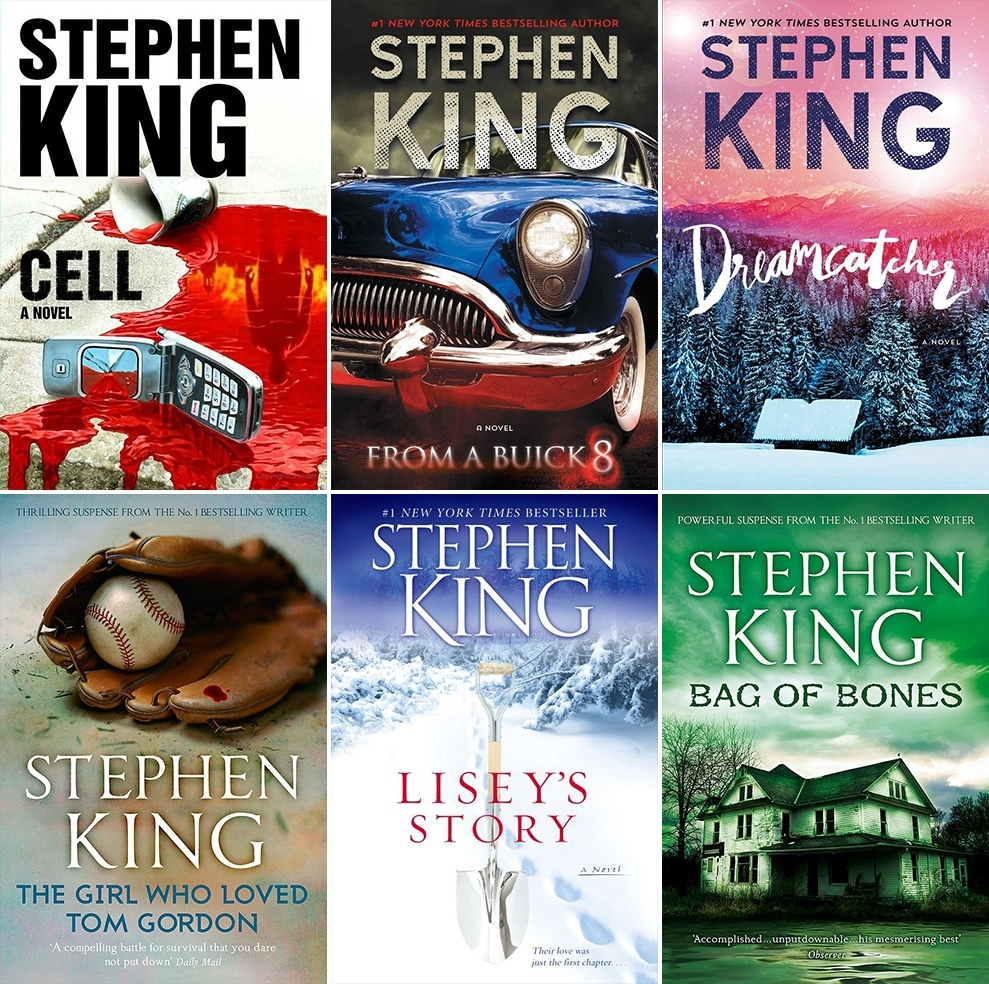 ~ Books By Stephen King ~