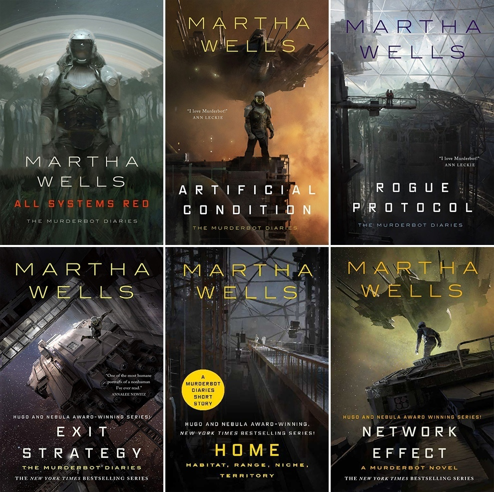 The Murderbot Diaries Series by Martha Wells read and download epub, pdf,  fb2, mobi