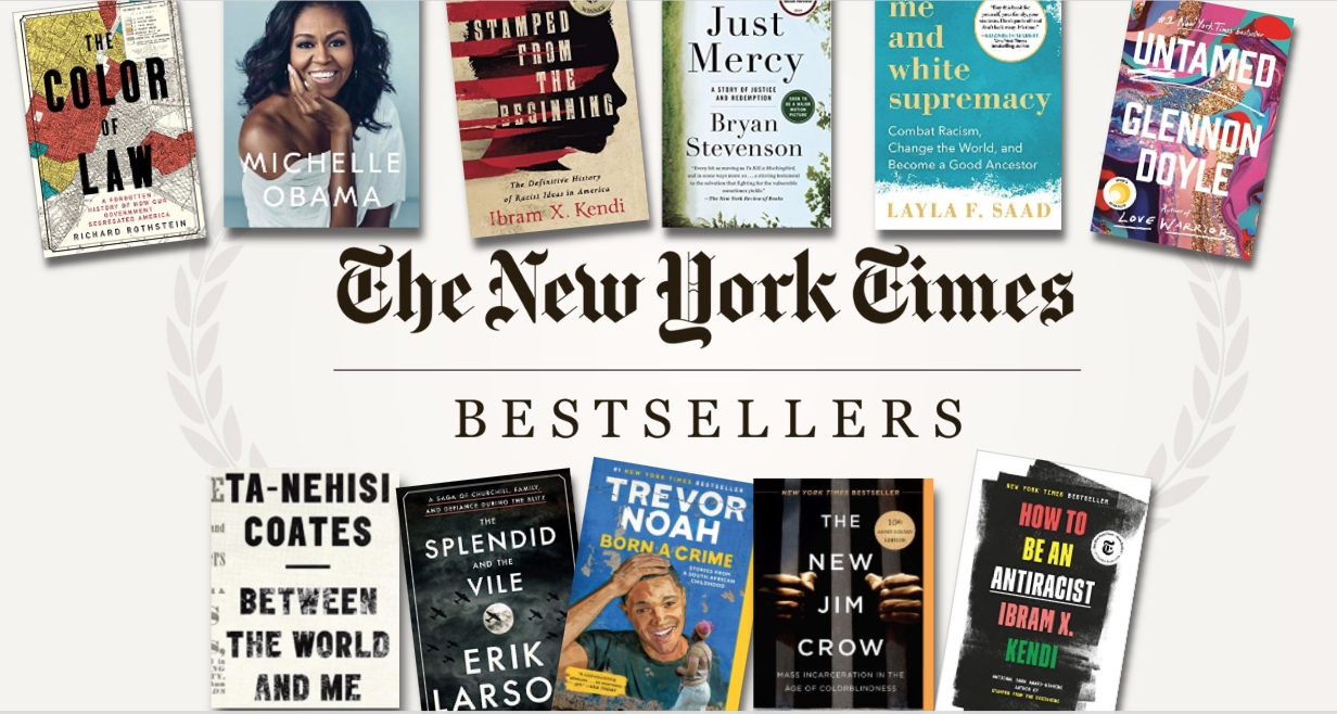 The New York Times Best Sellers: NON-FICTION – June 28, 2020