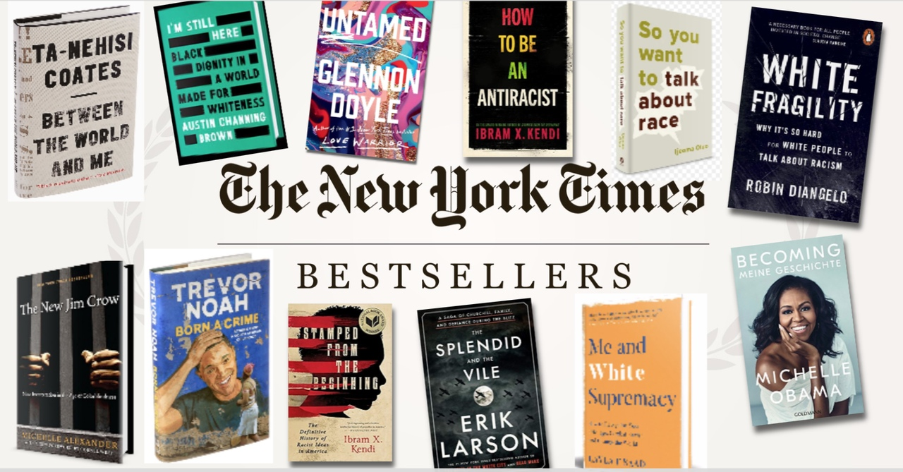 The New York Times Best Sellers: NON-FICTION – June 21, 2020