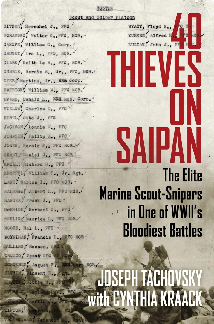Joseph Tachovsky – 40 Thieves On Saipan