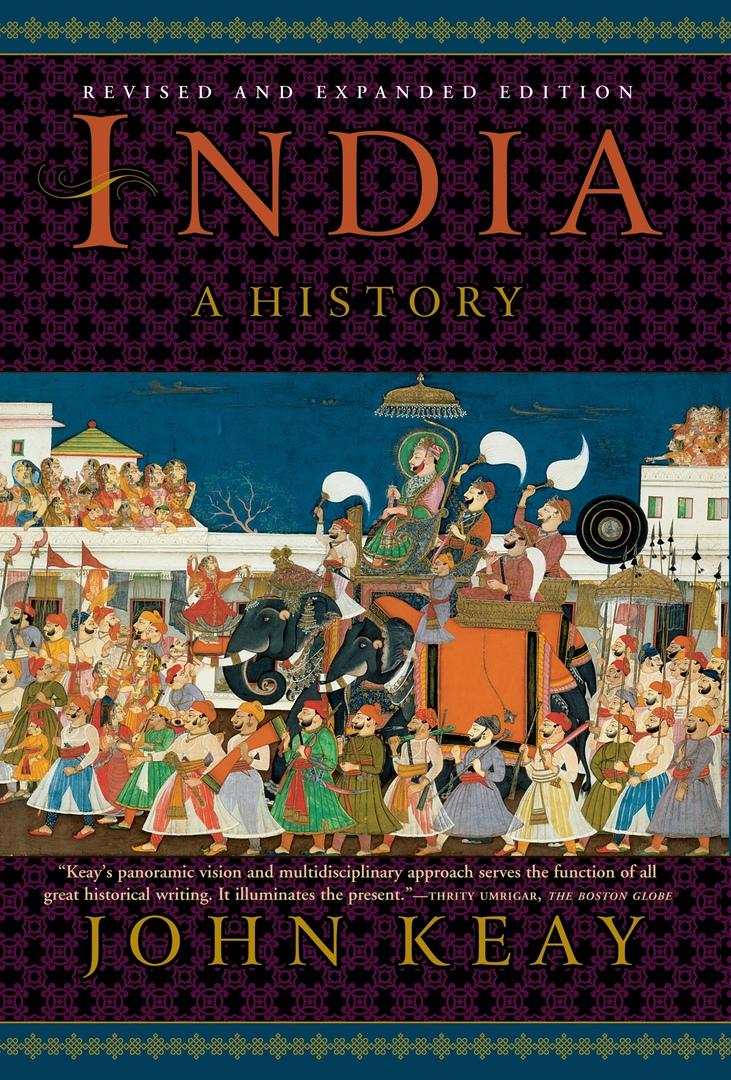 1) India: A History – John Keay