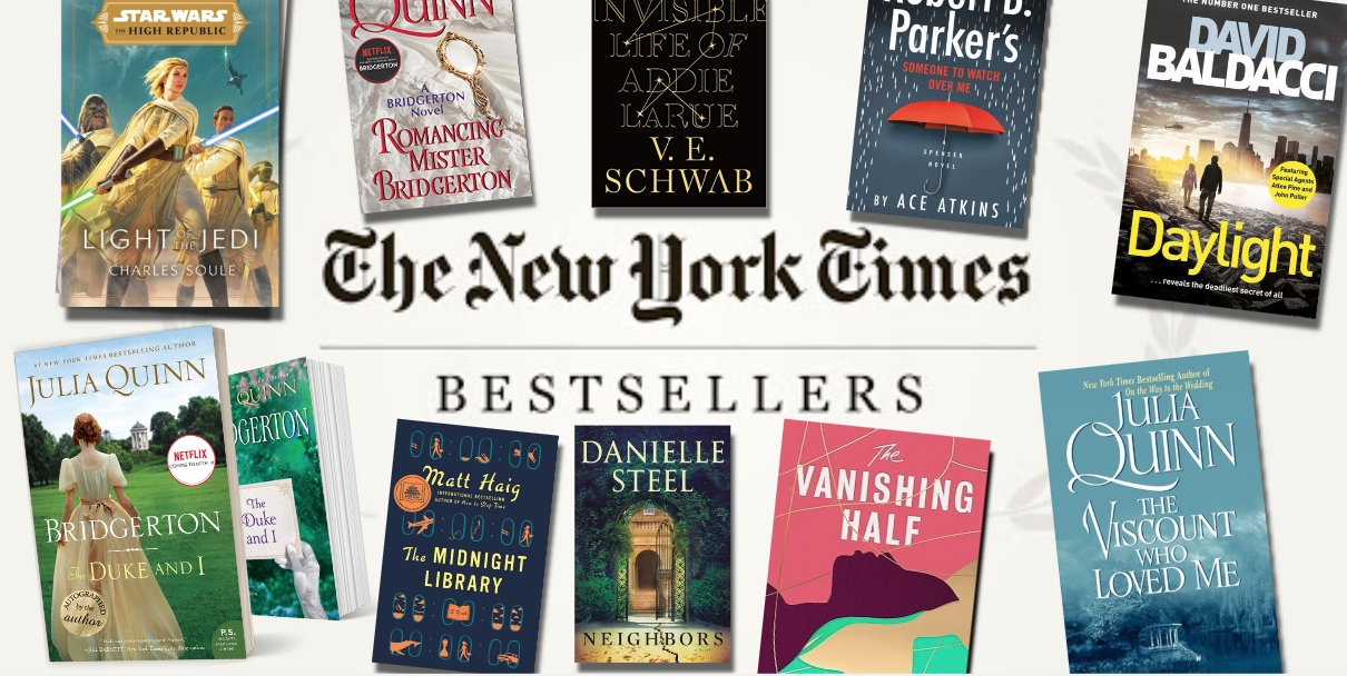 The New York Times Best Sellers: Fiction – January 31, 2021