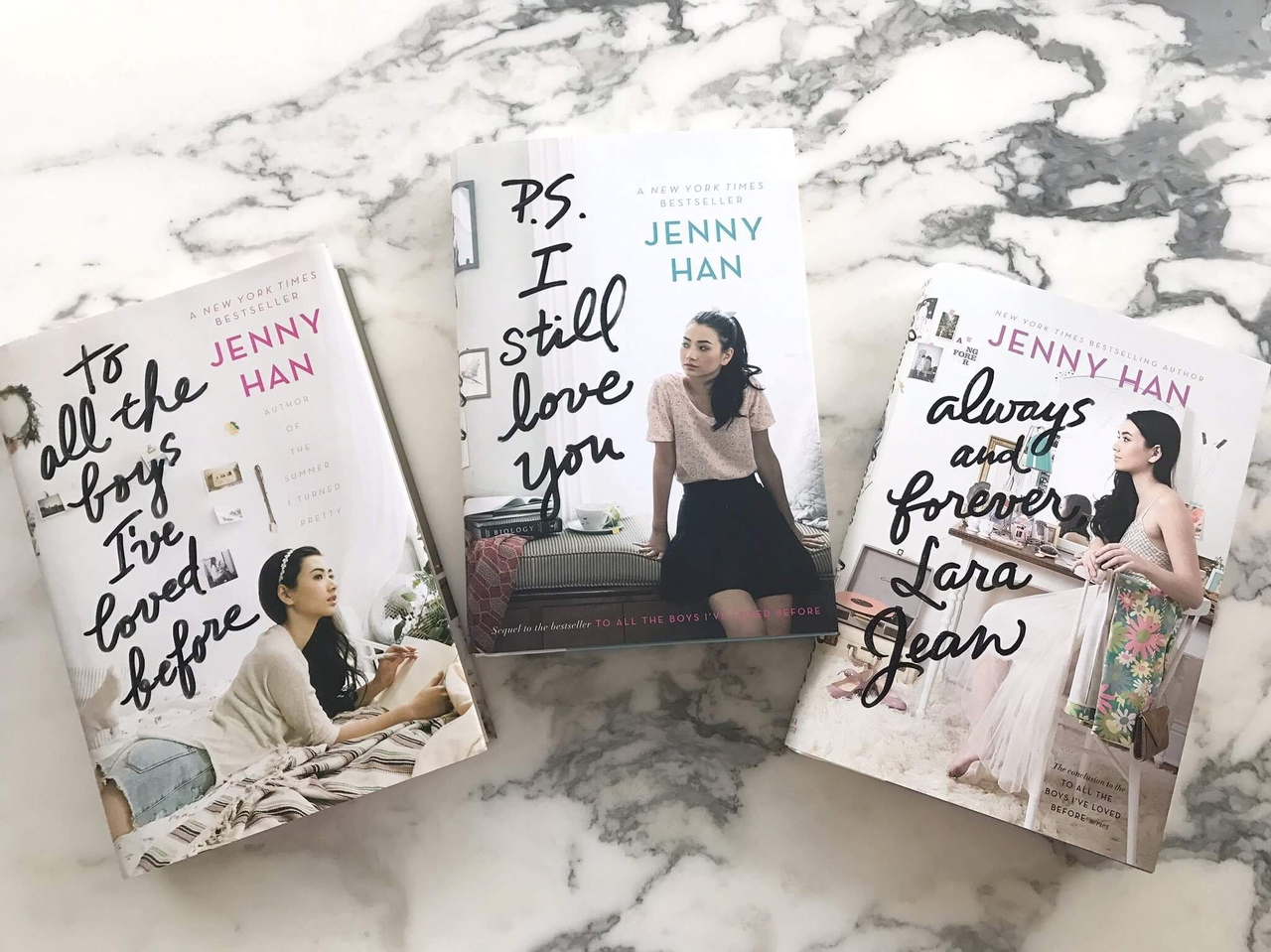 To All The Boys I've Loved Before Series By Jenny Han