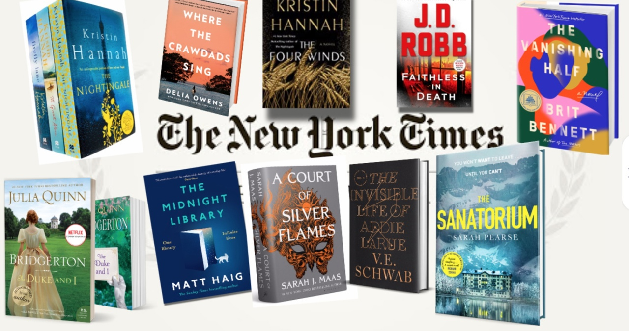 The New York Times Best Sellers: Fiction – March 14, 2021