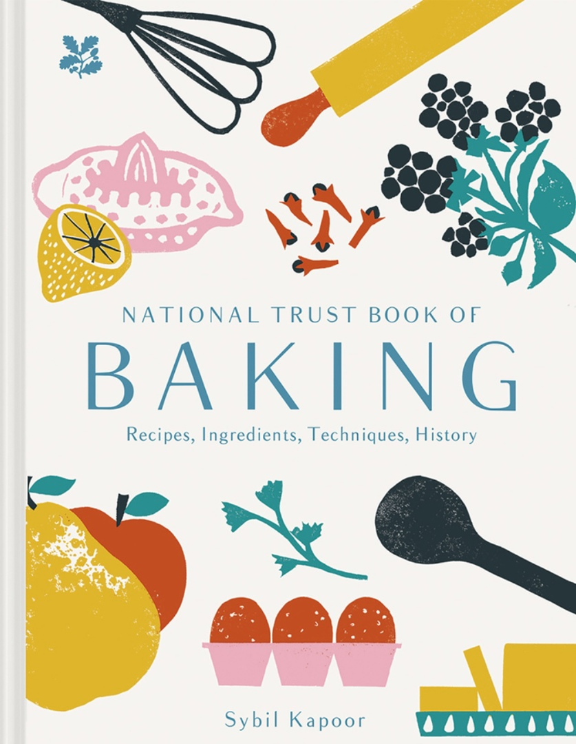 National Trust Book Of Baking By Sybil Kapoor